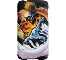 lugia and ho-ho battle Samsung Galaxy Case/Skin