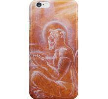 Hanuman - from ape to angel iPhone Case/Skin