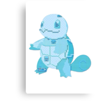 squirtle cool design old school pokemon Canvas Print