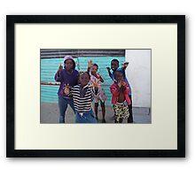 Mondesa Kids Framed Print