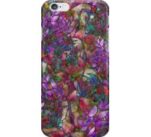 Floral Abstract Stained Glass iPhone Case/Skin