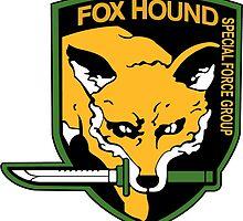 FOX HOUND Art by Solbessx