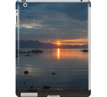 Sunset Zephyr Cove  iPad Case/Skin