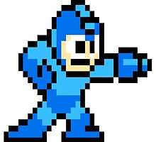 Mega Man Art by Solbessx