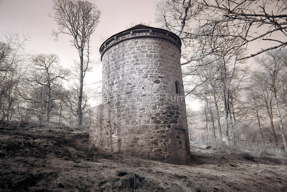 Spooky Dovecote by Mark Andrew Turner