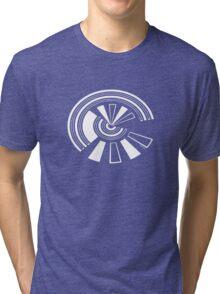 Mandala 15 Simply White Tri-blend T-Shirt