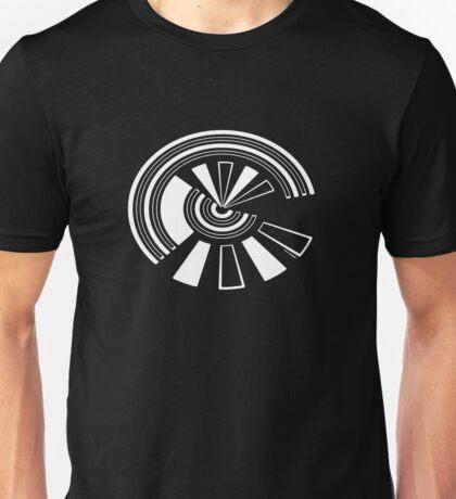 Mandala 15 Simply White Unisex T-Shirt