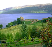 Loch Ness And Castle by Larry149