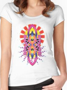PSYSHAPES #001 Women's Fitted Scoop T-Shirt