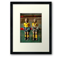 Joined at the Hip Framed Print