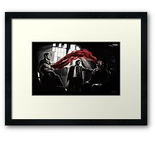 Let The Right (Wrong) One In Framed Print