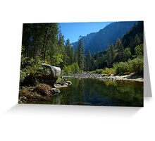 Reflection Pool  Greeting Card