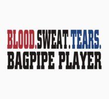 Bagpipe Kids Tee