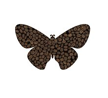 Butterfly coffee by Emi Noris