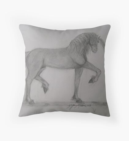 Rising to the Challange Throw Pillow