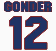 National baseball player Jesse Gonder jersey 12 by imsport