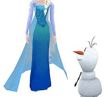 do you want to build a snowman by LokiLaufeysen