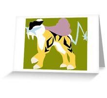 The Thunder Dog Greeting Card