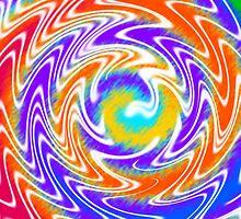 Tie Dye Swirls 2 by Susan Sowers