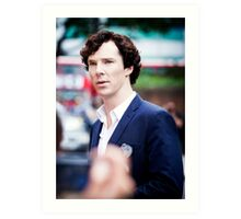 Cumberbatch Art Print