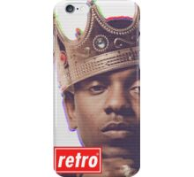 Kendrick Lamar - Retro  iPhone Case/Skin