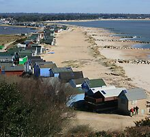 Mudeford Sands by RedHillDigital