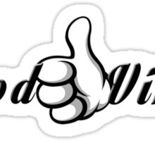 Good Vibes - Thumbs Up Sticker