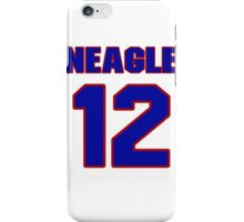 National baseball player Denny Neagle jersey 12 iPhone Case/Skin