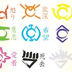 Lantern Corps Calligraphy by Steve Womack