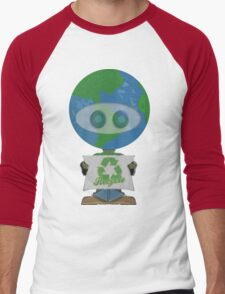 Earth Day Recycle t shirts Men's Baseball ¾ T-Shirt