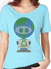 Earth Day Recycle t shirts Women's Relaxed Fit T-Shirt