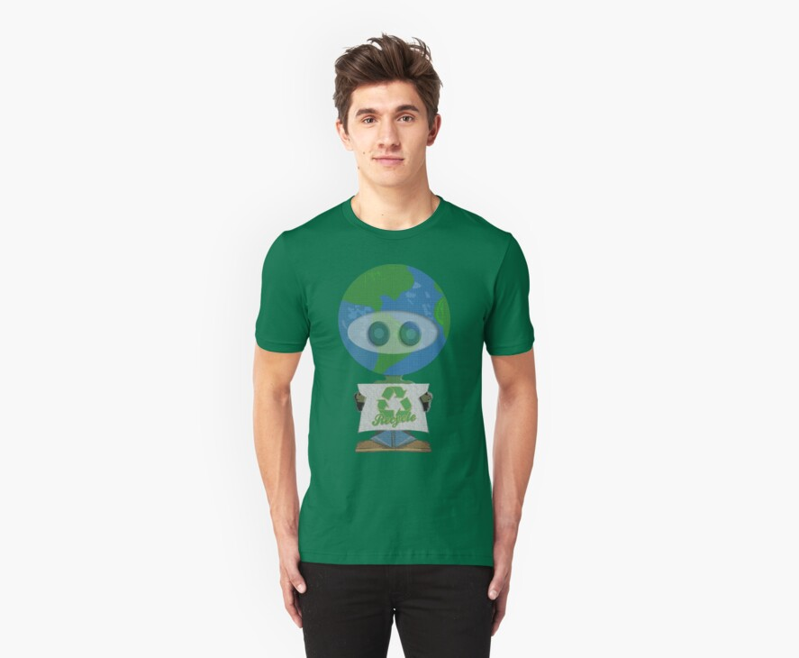 Earth Day Recycle t shirts by iEric