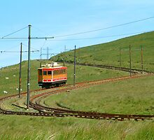 Manx Electric Railway by Garrington