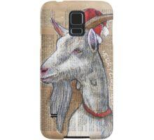 Christmas Goat Samsung Galaxy Case/Skin