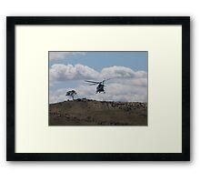 Care flight Framed Print