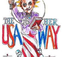 The USA Her Way by Seth  Weaver