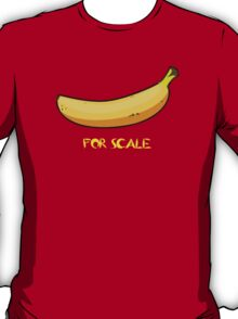 BANANA IS THE BEST SCALE T-Shirt