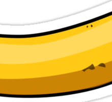 BANANA IS THE BEST SCALE Sticker