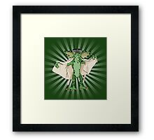 Flasher2 Framed Print