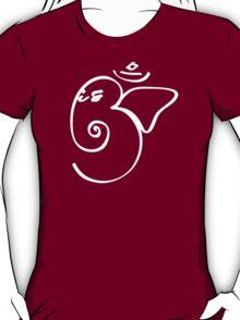 Ganesh Om Yoga T-shirt T-Shirt