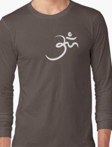 Stylized Om Yoga T-shirt Long Sleeve T-Shirt