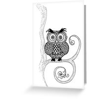 Hoot Greeting Card