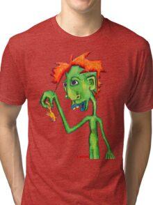 Electric Goldfish Tri-blend T-Shirt