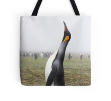 "King Penguin ~ ""The Trumpeter"" Tote Bag"