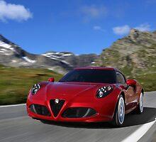 Alfa Romeo 4C by djoc444