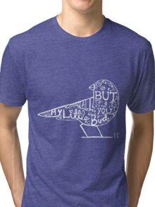 My Little Bird Typography Ed Tri-blend T-Shirt