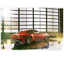 Alfa Romeo Disco Volante Poster
