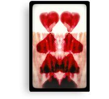 Broken hearts Canvas Print