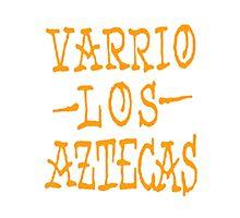 Varrio los Aztecas Graffiti Photographic Print