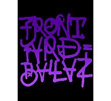 Front Yard Ballas Graffiti Photographic Print